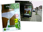 Input Picture for Prizmo - Bus Stop Advertisement