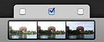 New in Hydra 3: Choose a single picture, so that when the HDR image is rendered, a single shot is used for that zone