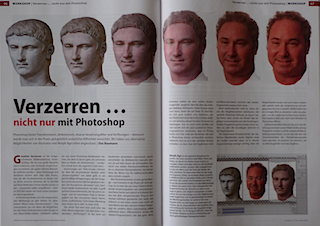 Article about Morph Age in the German magazine Docma - Pages 66 and 67
