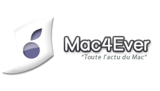 logo of the French website mac4ever.com