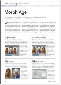 Article about Morph Age in the German magazine MacUp
