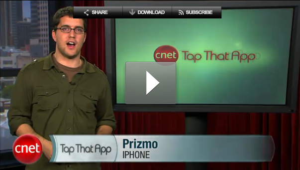 image from Cnet Tap That App Show about Prizmo